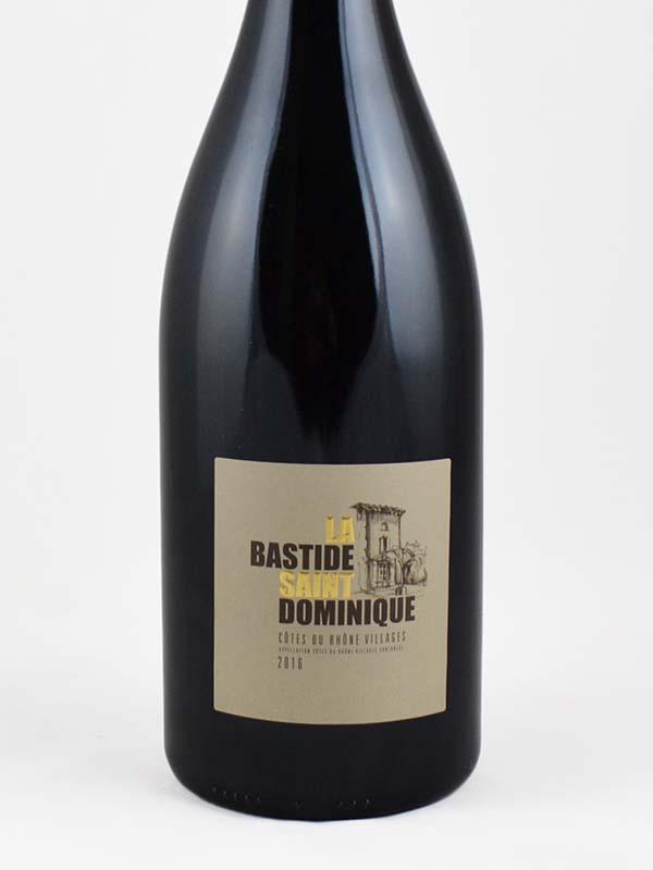 Bastide saint dominique cdr village magnum étiquette