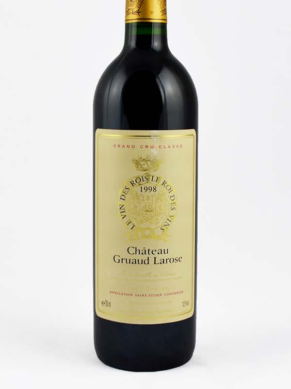 Gruau Larose Saint-Julien 1998 étiquette