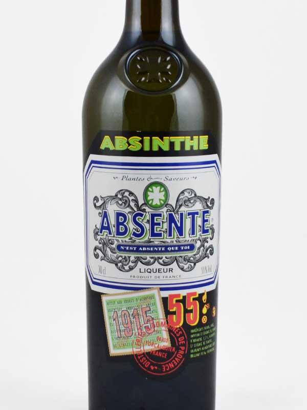 absinthe 55 degres etiquette