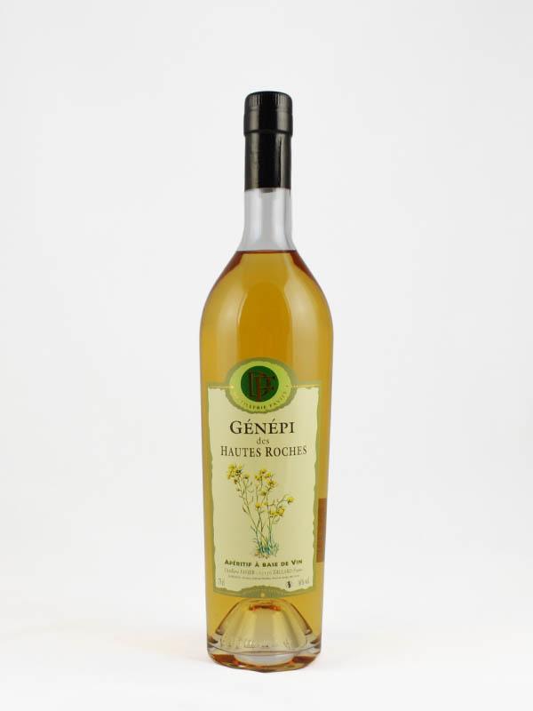aperitif a base de vin genepi