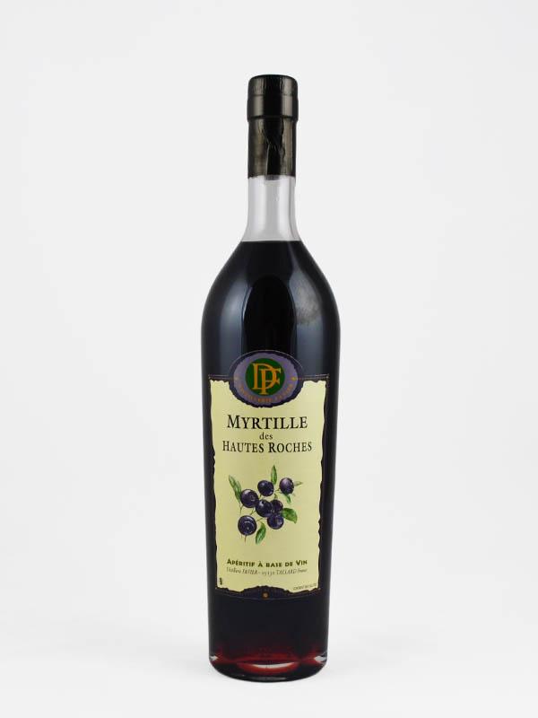 aperitif a base de vin myrtille