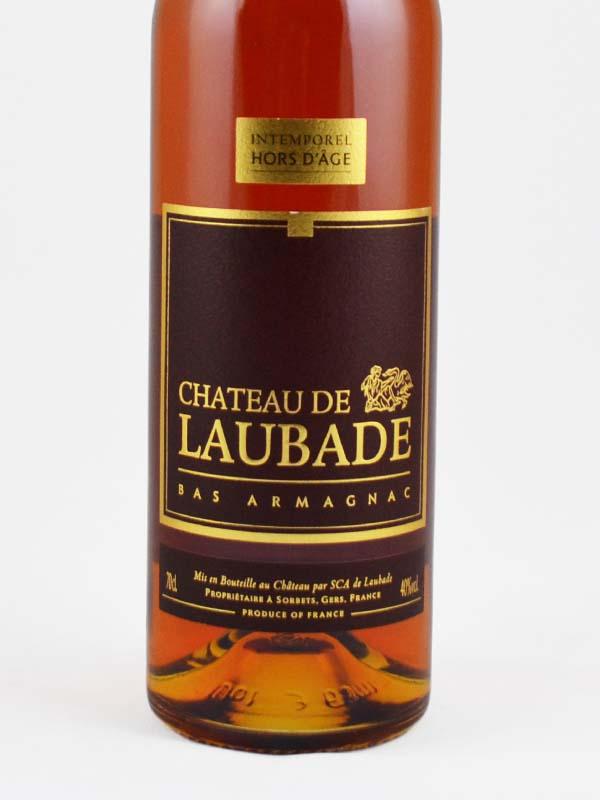 armagnac intemporel laubade etiquette