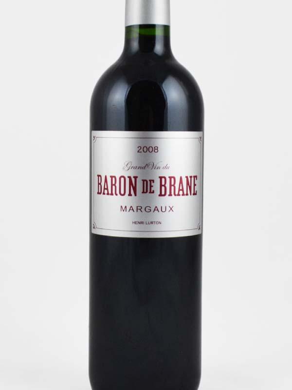 baron de brane margaux etiquette