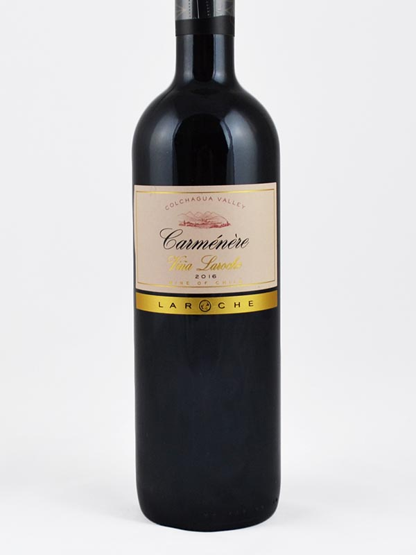 Carmenere wine of chile étiquette