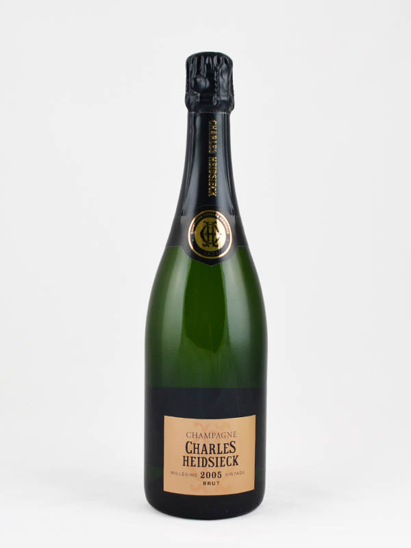 champagne charles heidsieck millesime 2005 etiquette