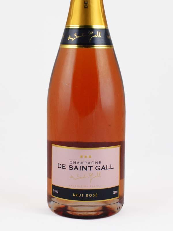 champagne de saint gall rose etiquette