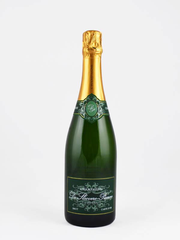 champagne de sloovere pienne carte d'or etiquette
