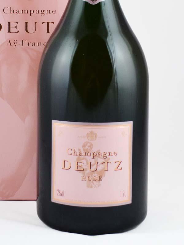 champagne deutz rose etiquette
