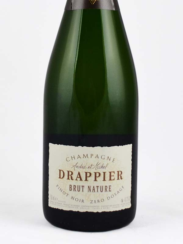 champagne drappier brut nature etiquette