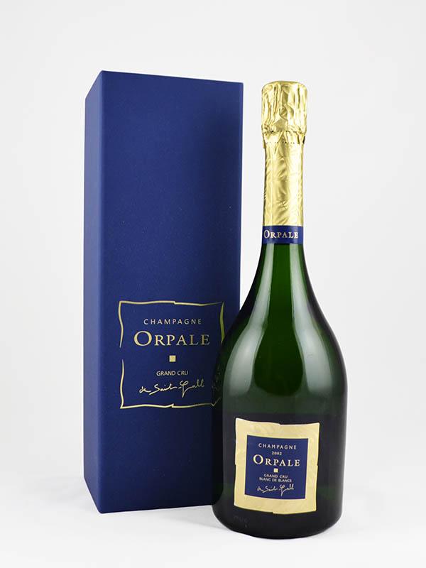 champagne orpale grand cru coffret etiquette