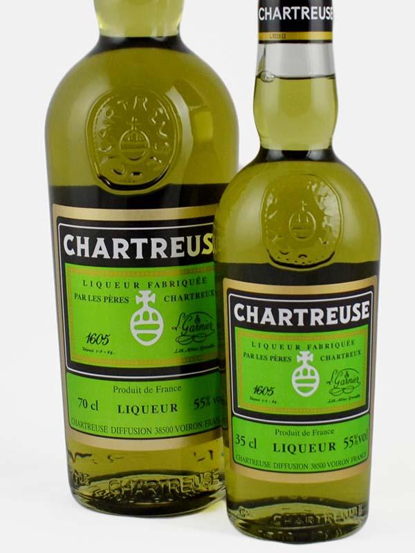 chartreuse verte etiquette