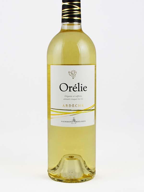 Cuvée Orélie blanc étiquette