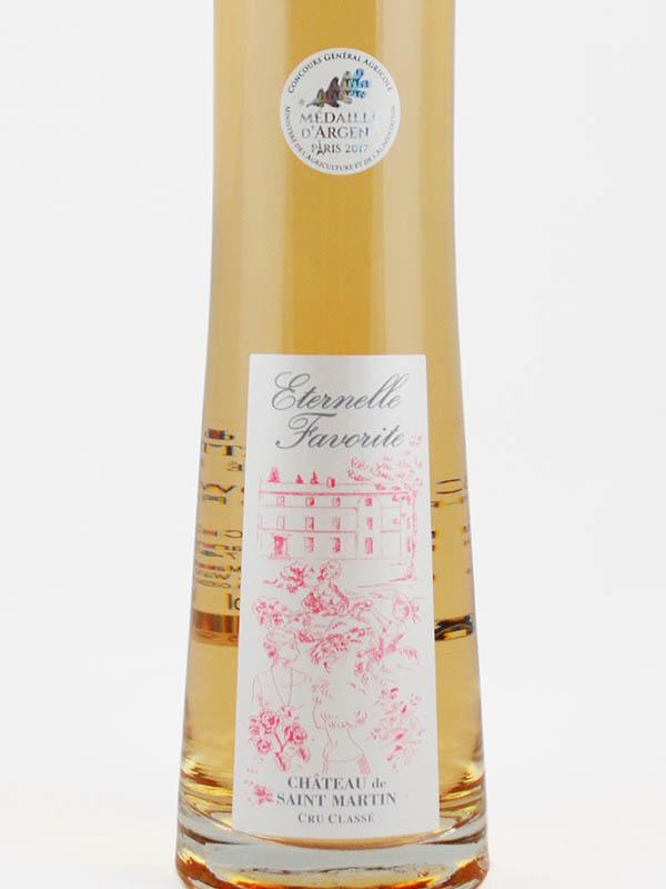 eternelle favorite cru classe chateau saint martin etiquette