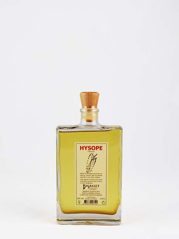 Hysope liqueur bigallet