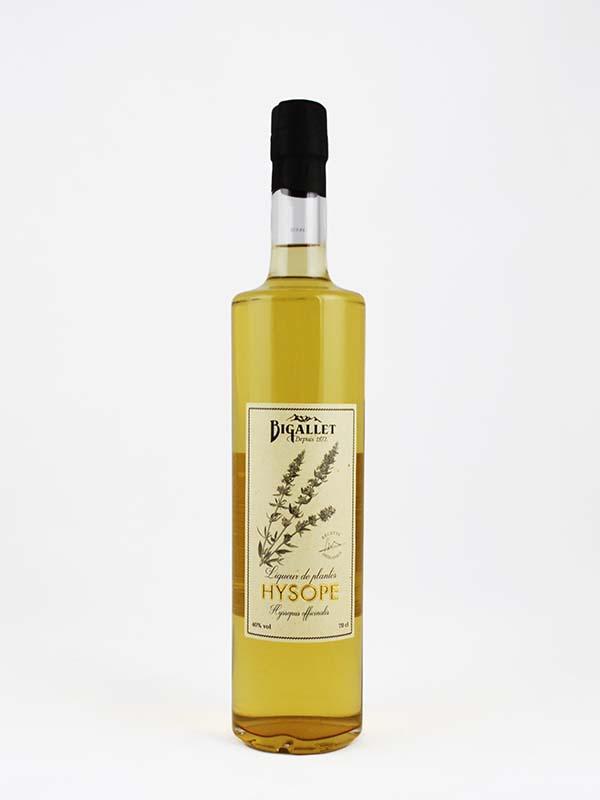 Liqueur Hysope bigallet