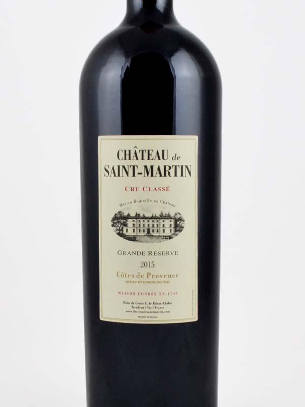 magnum chateau saint martin rouge cru classe etiquette