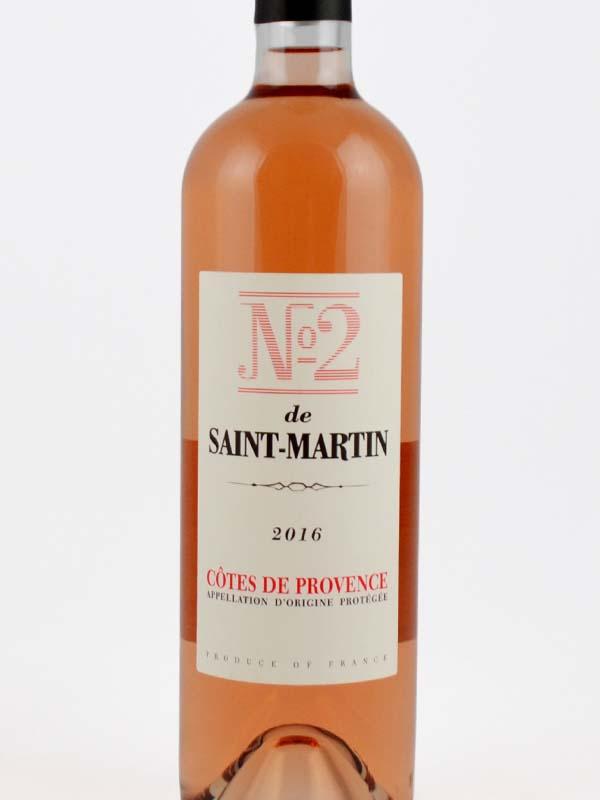 numero 2 de saint martin rose etiquette