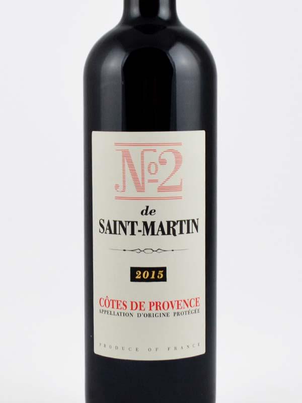 numero 2 de saint martin rouge etiquette