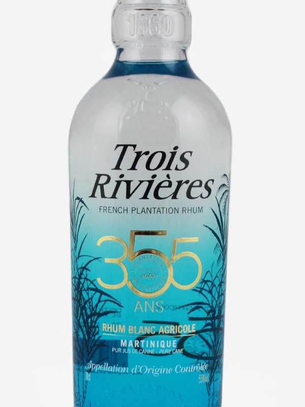 rhum blanc 3 rivieres martinique etiquette