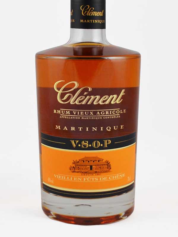 Rhum Clément VSOP martinique étiquette