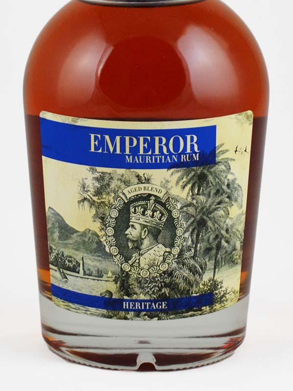 rhum emperor heritage ile maurice etiquette