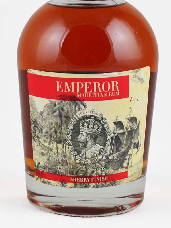 rhum emperor sherry cask etiquette