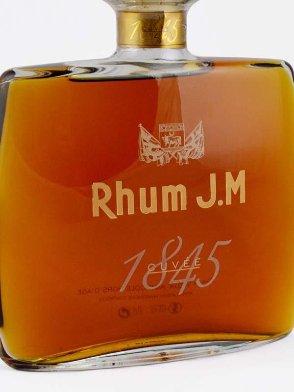 rhum vieux JM cuvee 1845 etiquette