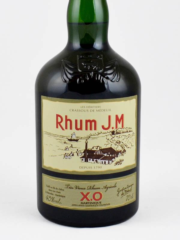 rhum vieux JM martinique 45 etiquette