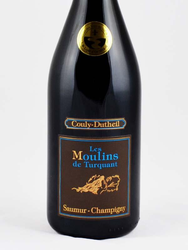 Saumur Champigny les Moulins de Turquant etiquette