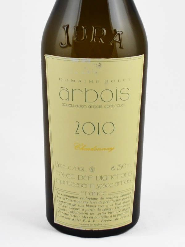 arbois chardonnay etiquette