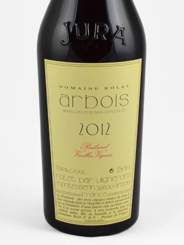 arbois poulsard rouge vieilles vignes etiquette