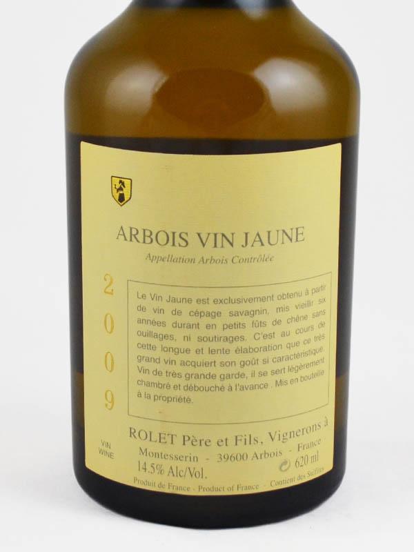 arbois vin jaune etiquette
