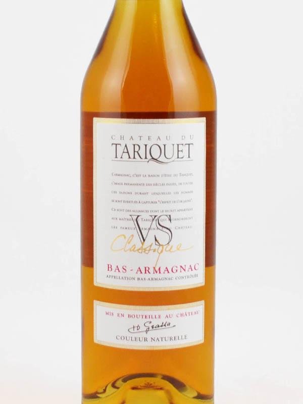 armagnac vs classique tariquet etiquette