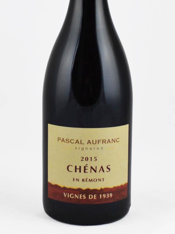chenas vignes 1939 etiquette