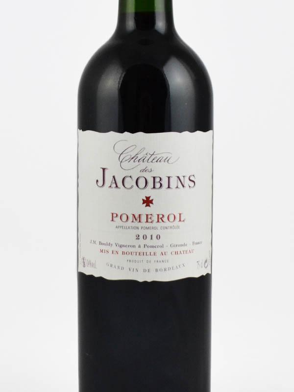 jacobins pomerol etiquette