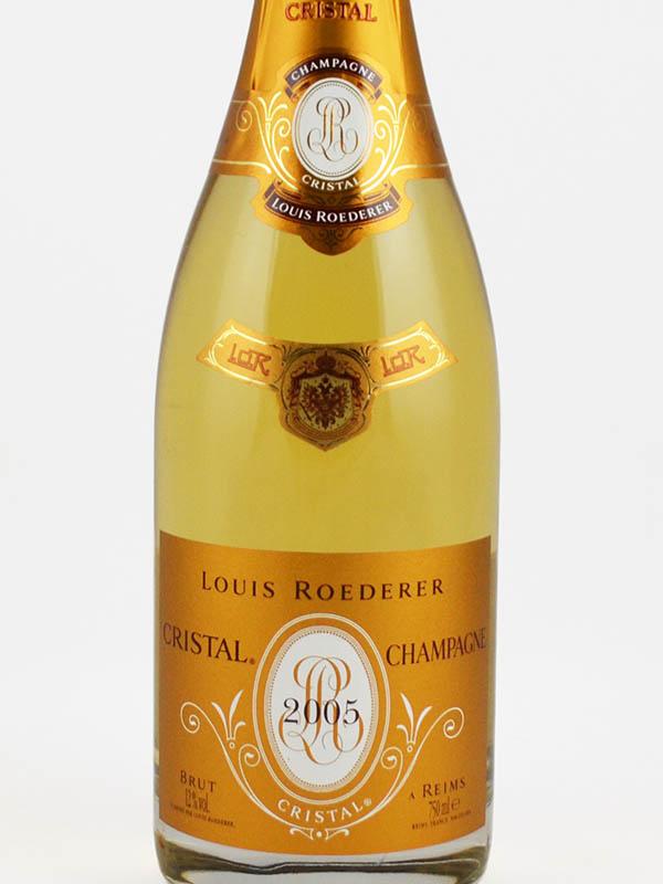 roederer cristal champagne brut etiquette
