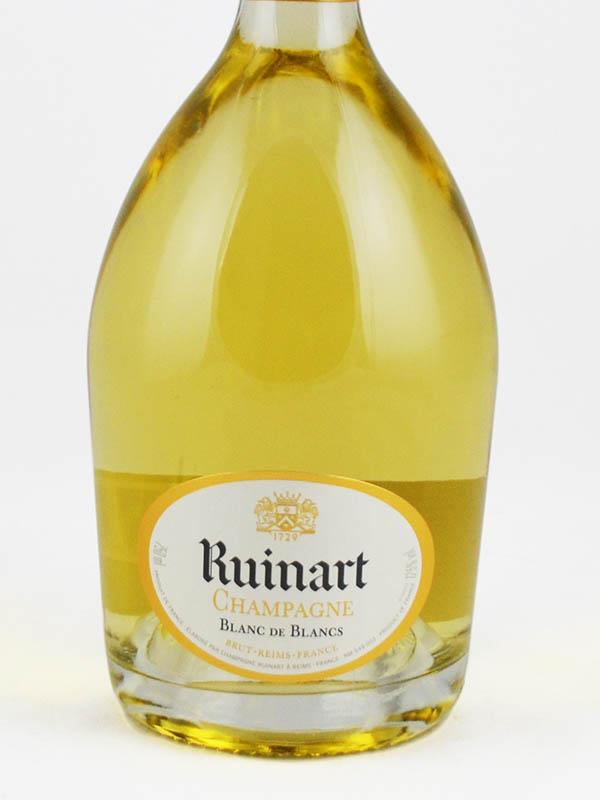 ruinart champagne blanc de blancs etiquette