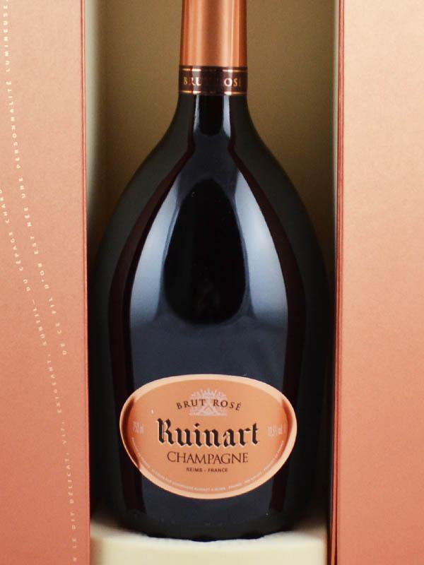 ruinart champagne brut rose coffret etiquette
