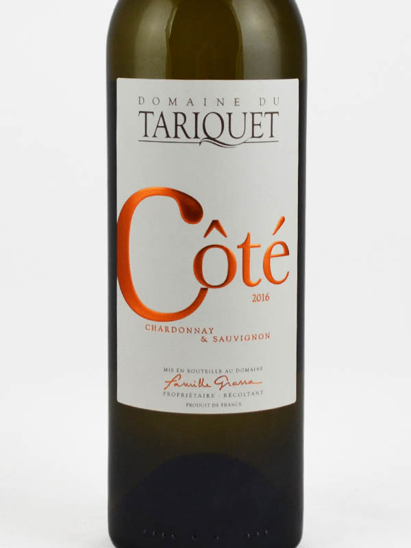 tariquet cote chardonnay sauvignon etiquette