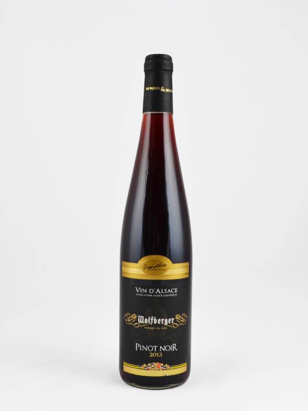 vin d'alsace wolfberger pinot noir signature