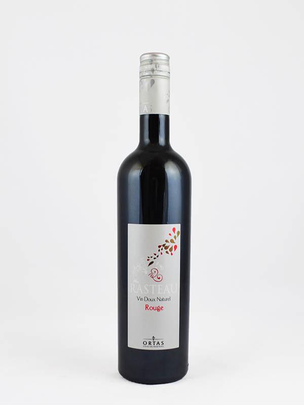 vin doux naturel rasteau rouge