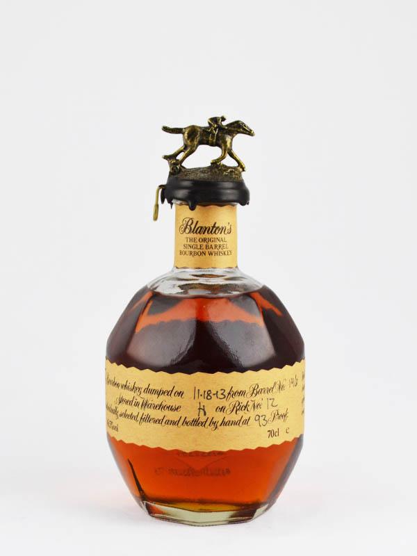 whisky bourbon blantons