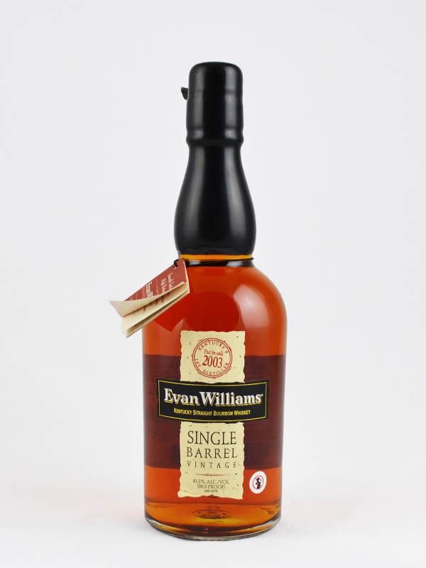 whisky bourbon evan williams