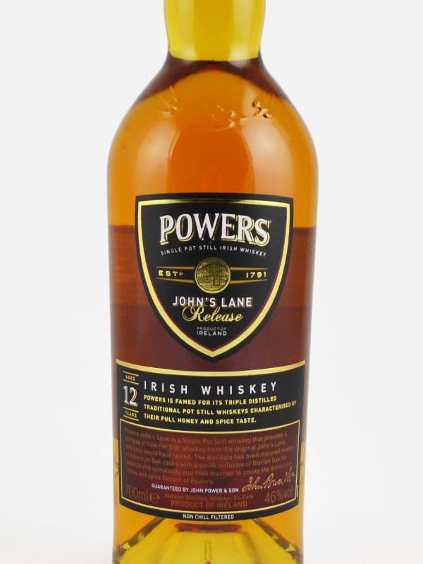 whisky john powers irlandais etiquette