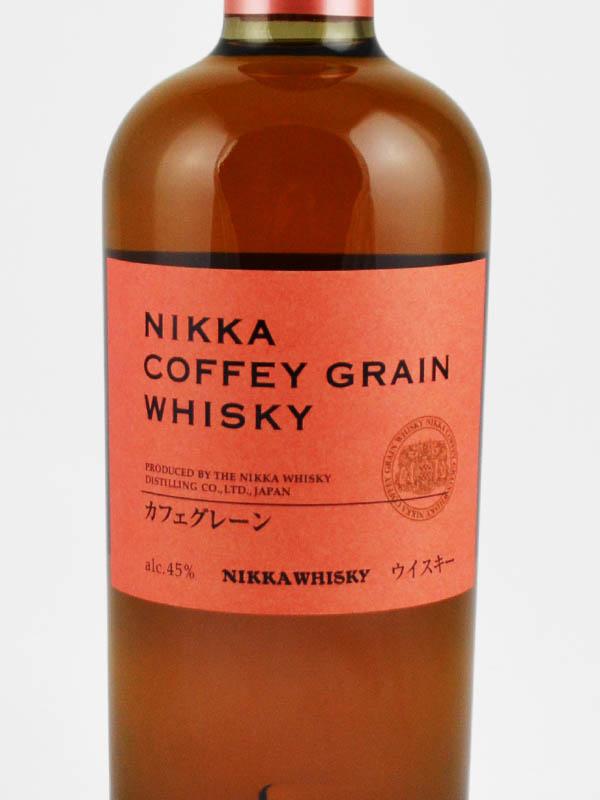 whisky nikka coffey grain etiquette