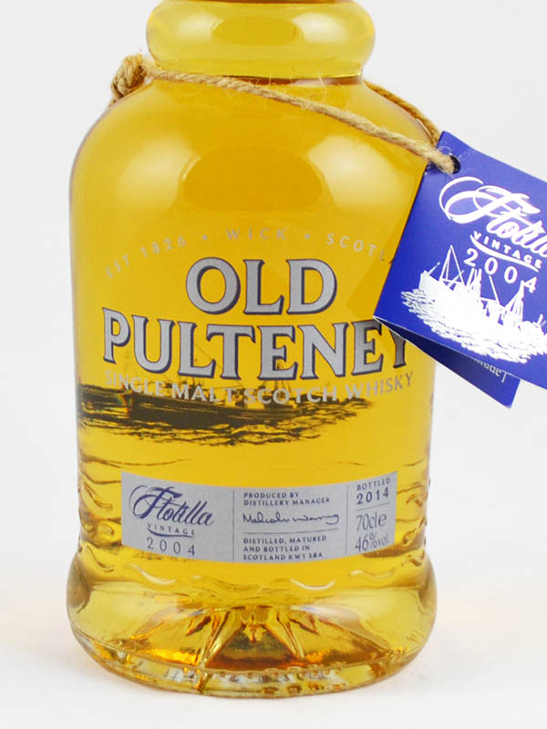 whisky old pulteney etiquette
